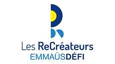 Logo Les ReCréateurs Emmaüs Défi