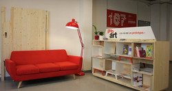 Aménagement espace - Atelier Emmaüs