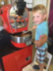 Alexander roasting coffee beans home small diedrich ir 2.5