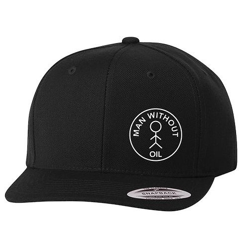Man Without Oil Snapback Hat
