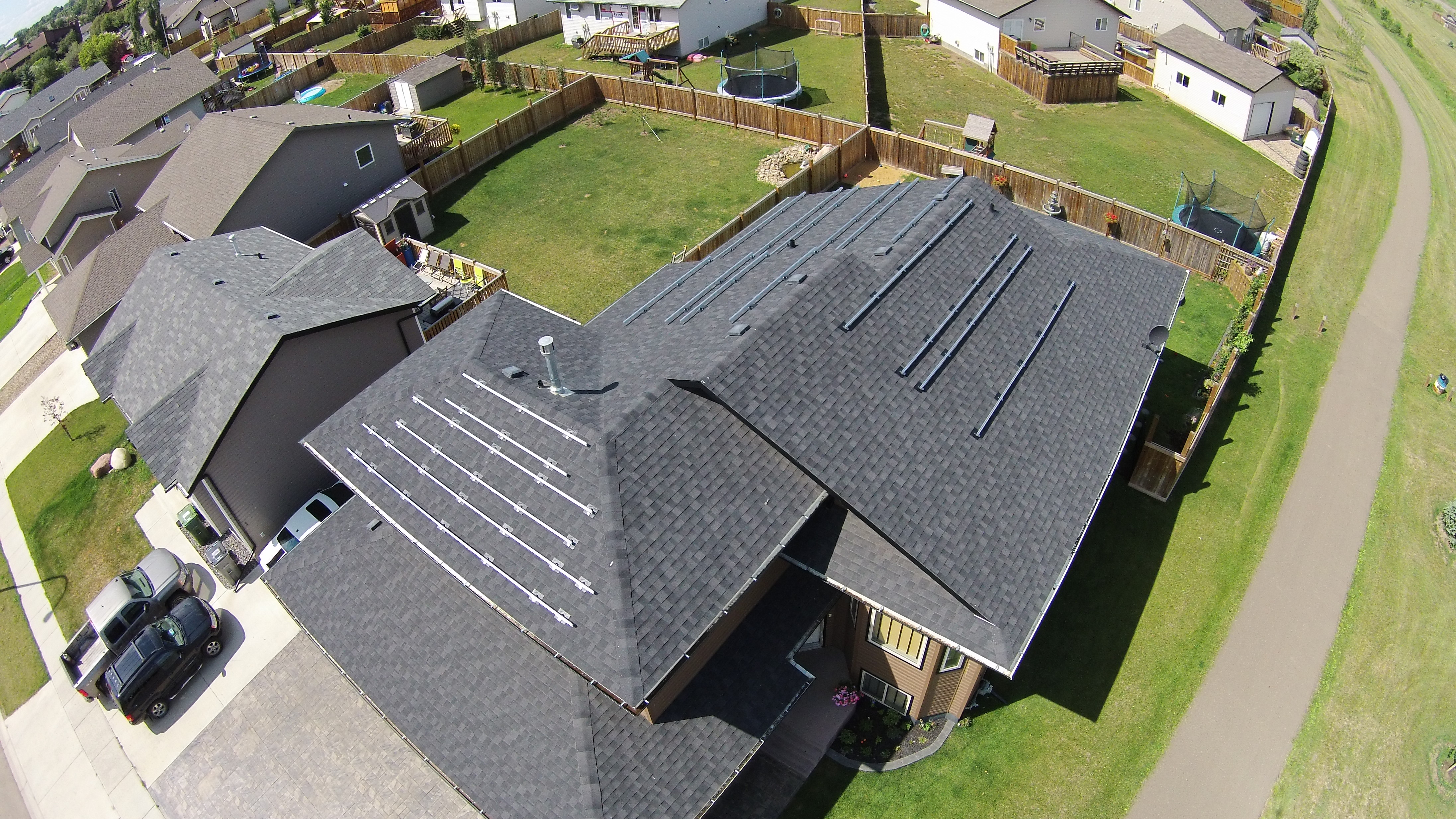 Residential Grid Tied Solar System