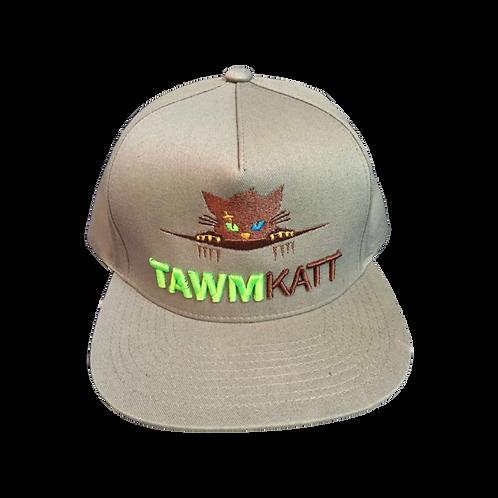 TawmKatt Full Color Logo 3D Puff Snapback Hat