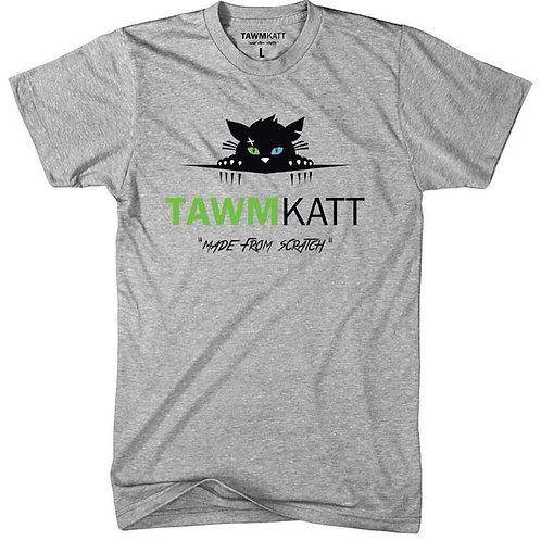 TawmKatt Logo Heather Grey T-Shirt