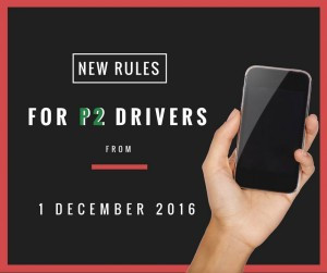 New P Plate Rules For Mobile Phones