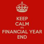 Keep Calm Financial Year