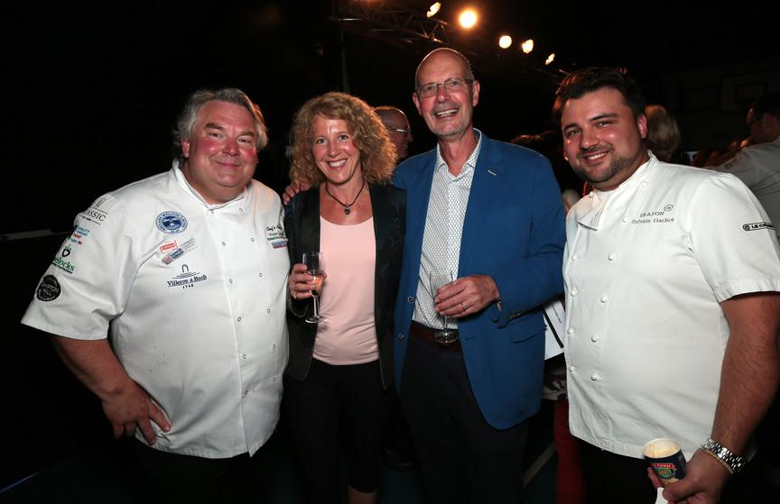 Andy Mackenzie, Fiona Whitehouse, Nigel Arnott and Sylvain Gachot.jpg