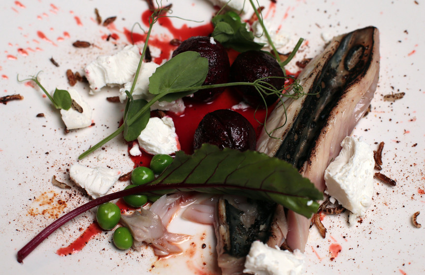 Murdered beetroot, torched mackerel and rice puff .jpg