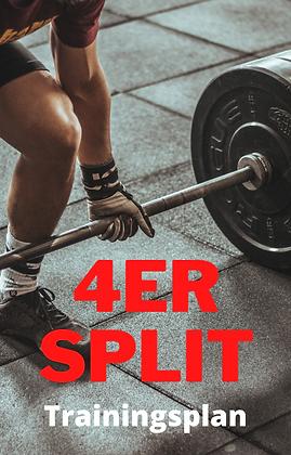 4er Split - Trainingsplan