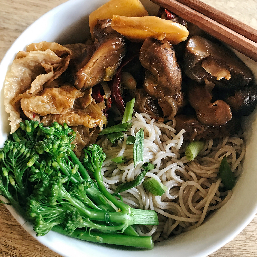Vegetarian Naengmyeon