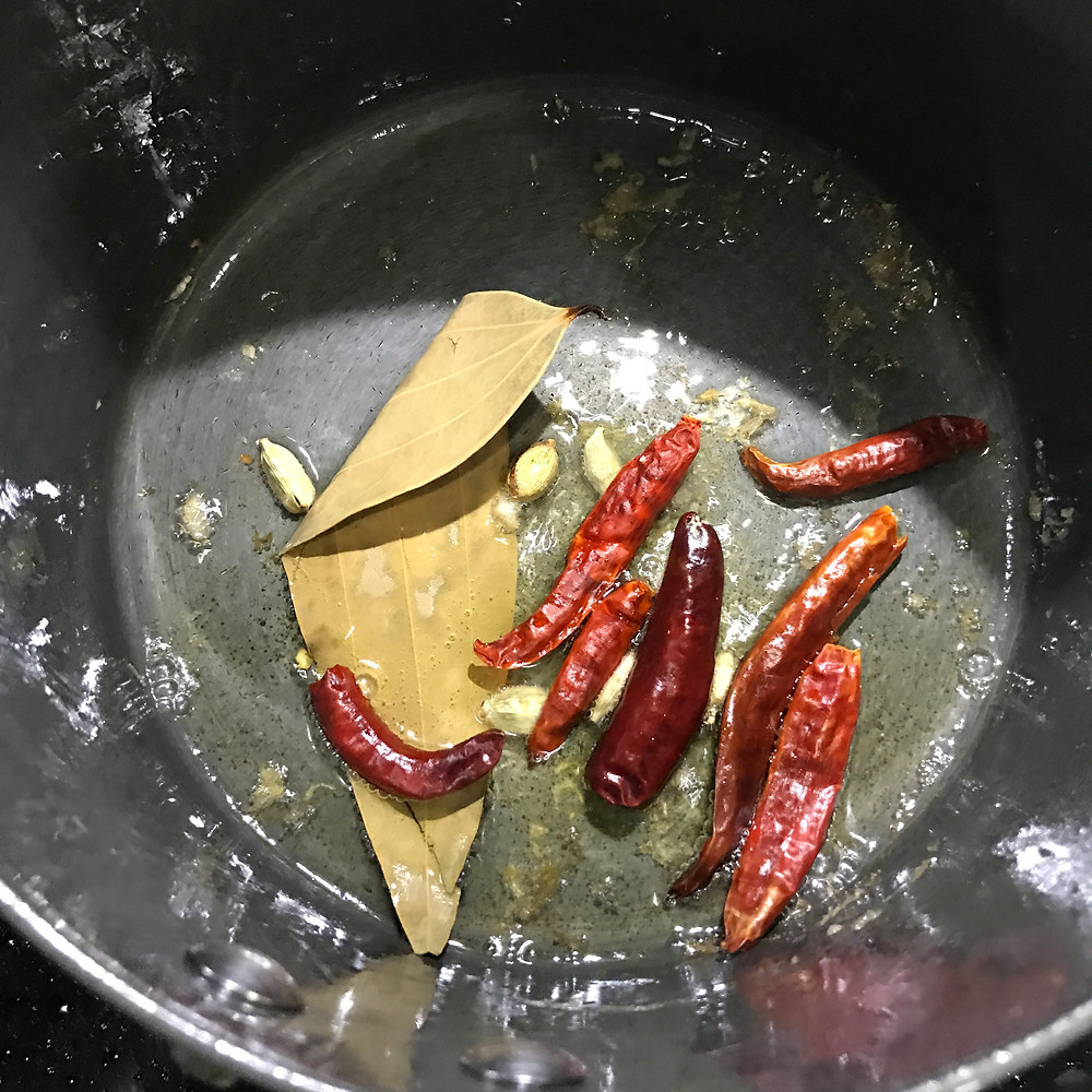 Dry Chilli Chicken Risotto