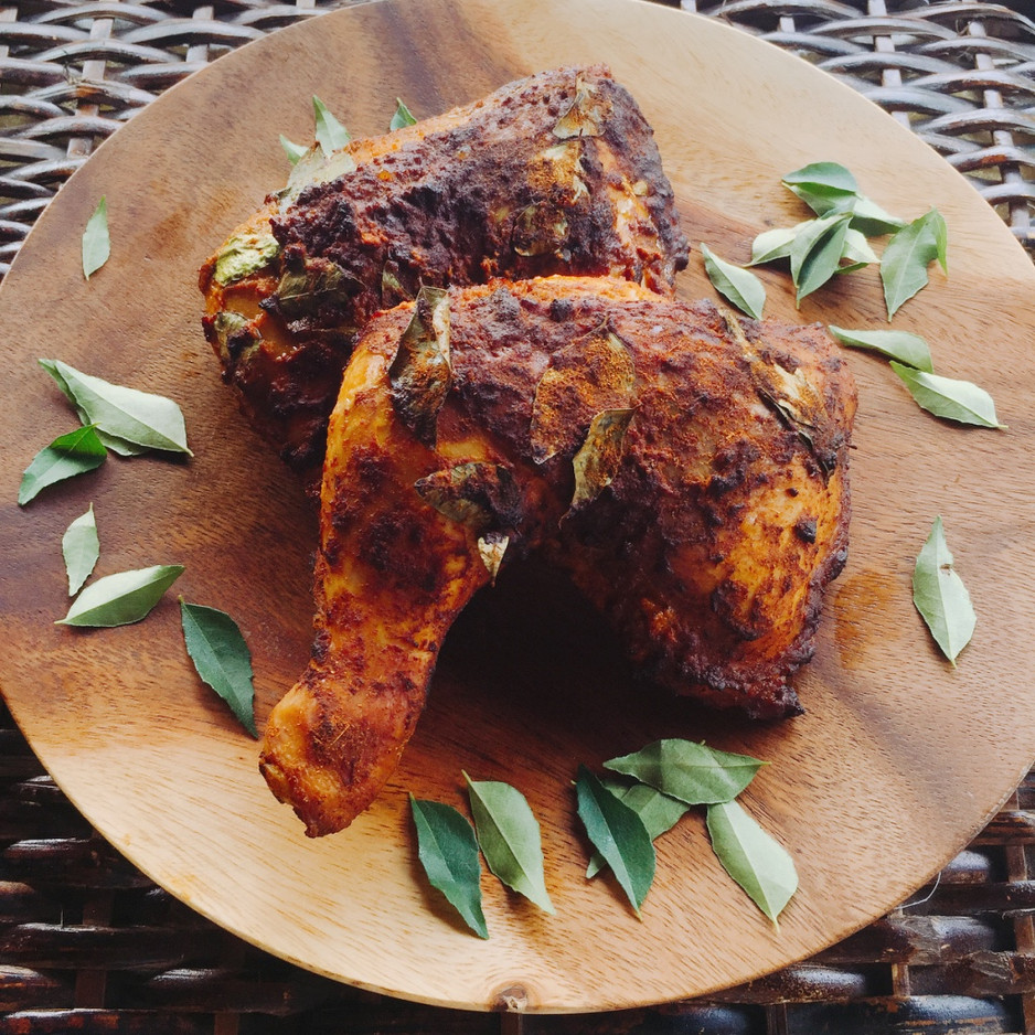 What does Ayam Rempah (Spiced Chicken) have in common with Batu Seremban?
