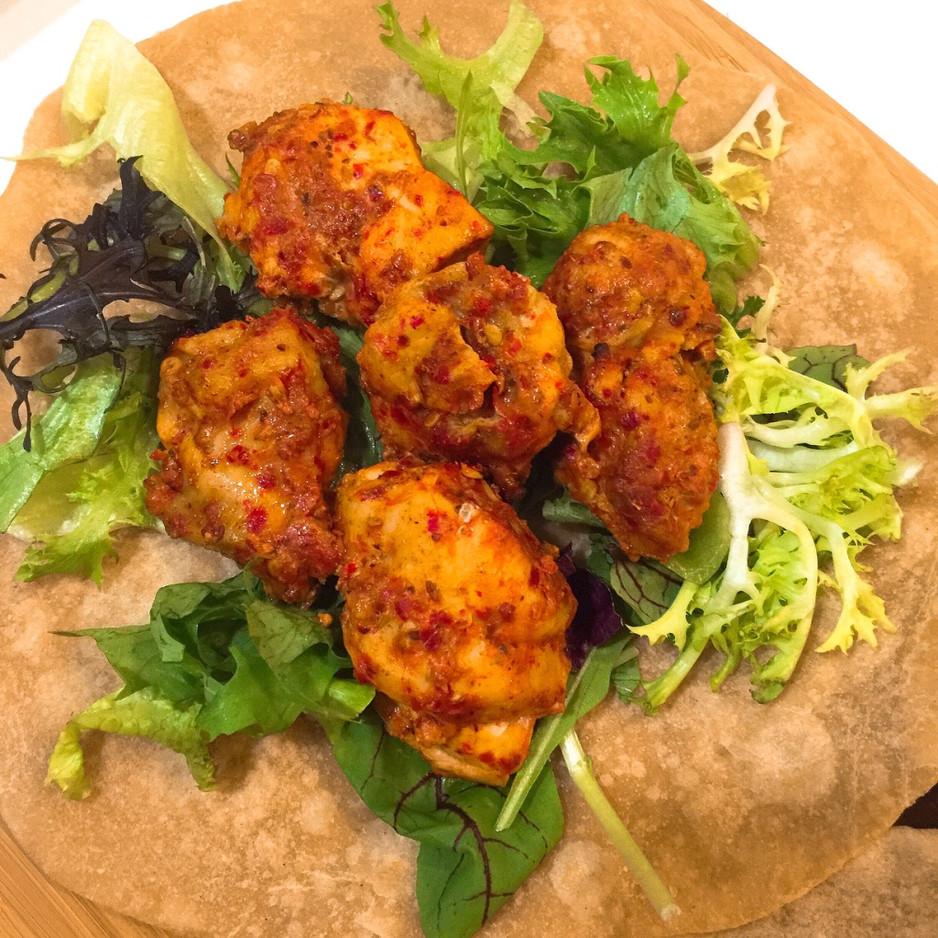 Chillin Chicken Tikka Wrap