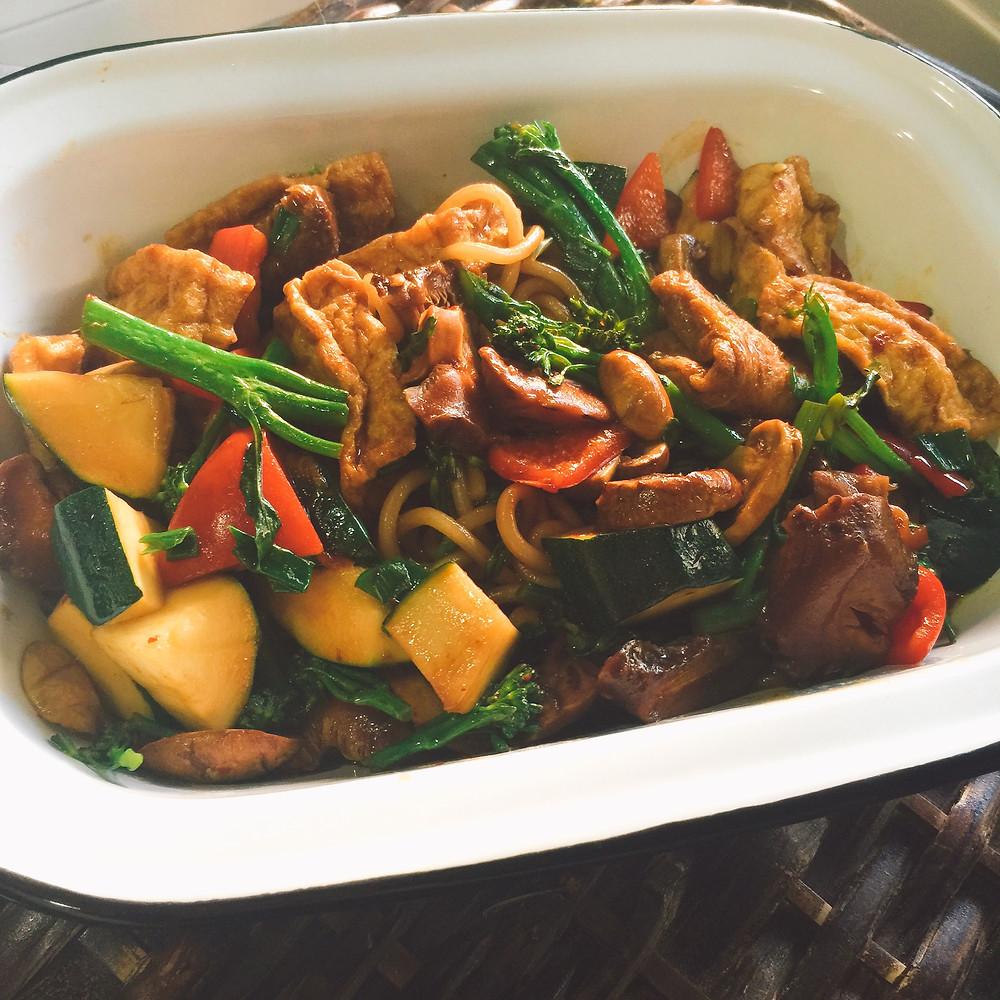 Jajang Noodles (Jajangmyeon)
