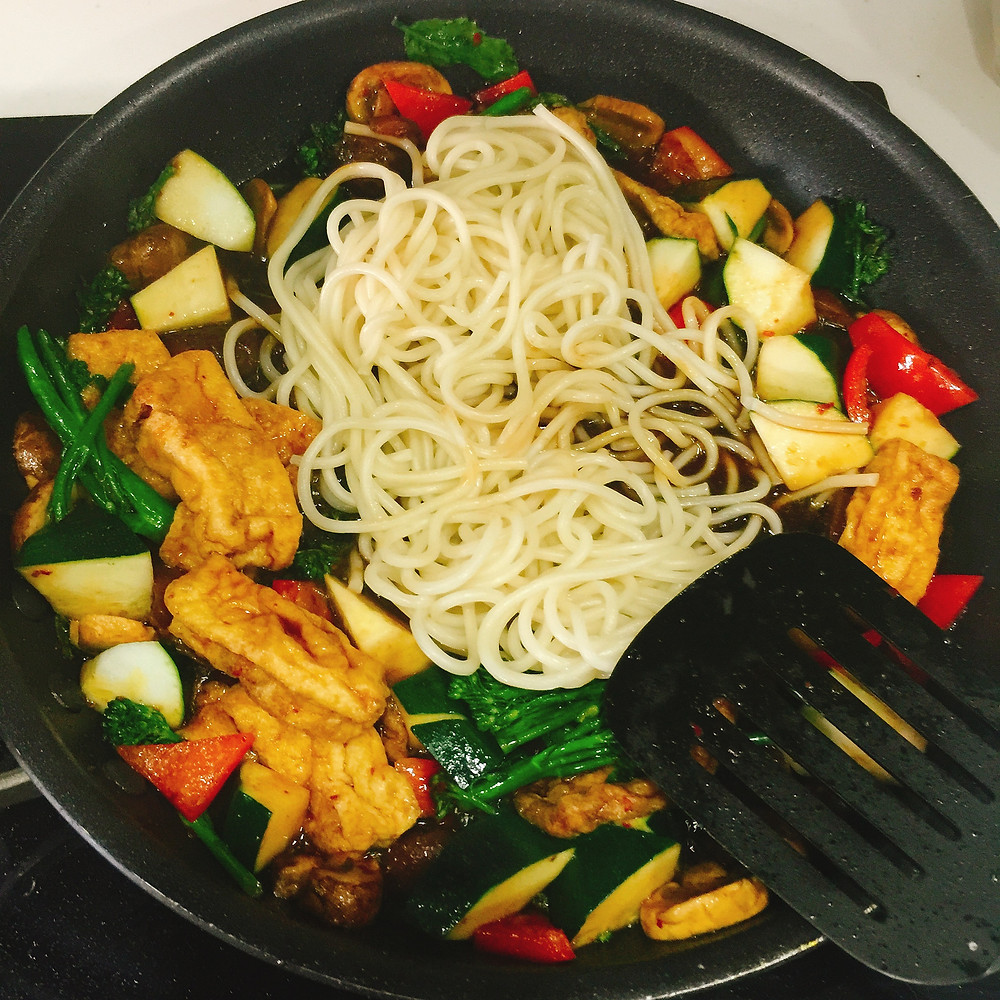 Jajang Noodles