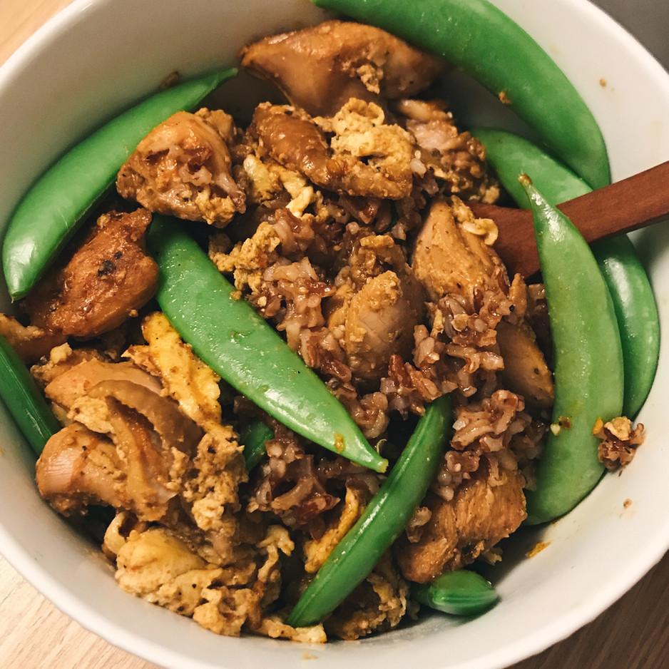 Manic Monday Meal featuring Szechuan Oyakodon