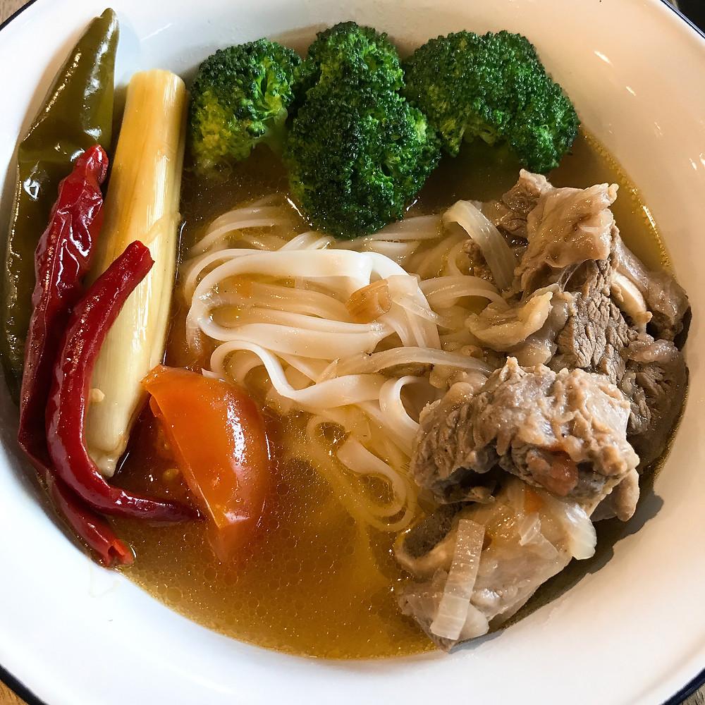 Easy Beef Rib Noodles