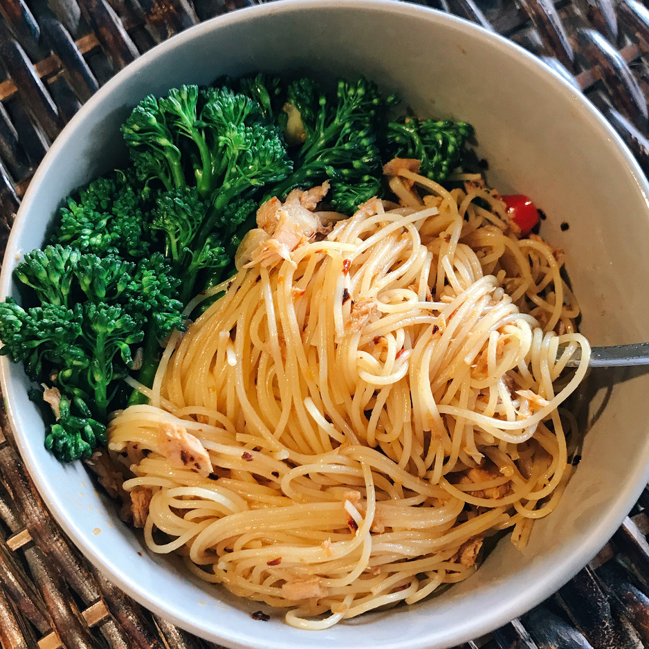 5 minutesSzechuan Tuna Pasta Recipe