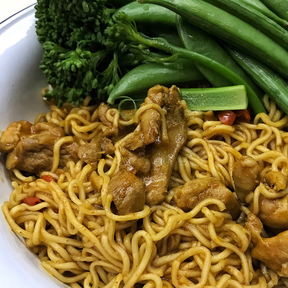 Curry Chicken Noodles