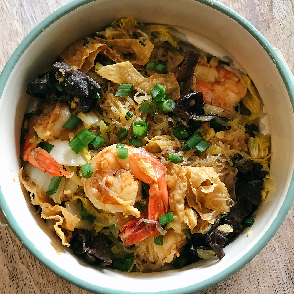 Curry Seafood Vermicelli