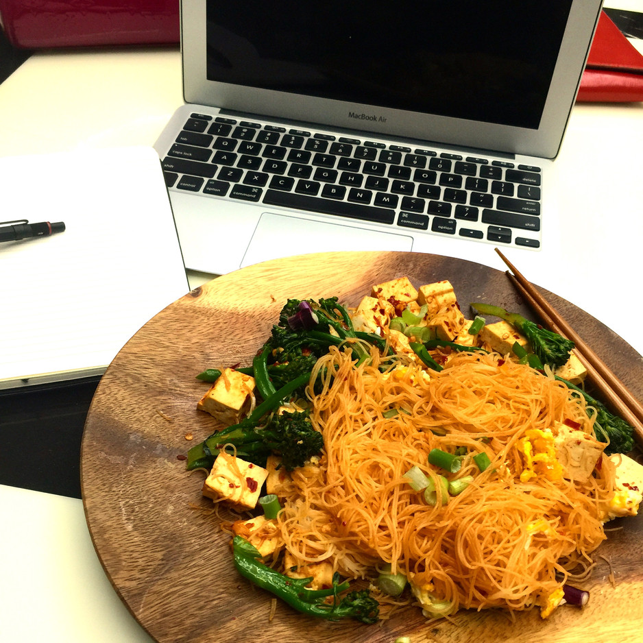 The Busy Vermicelli