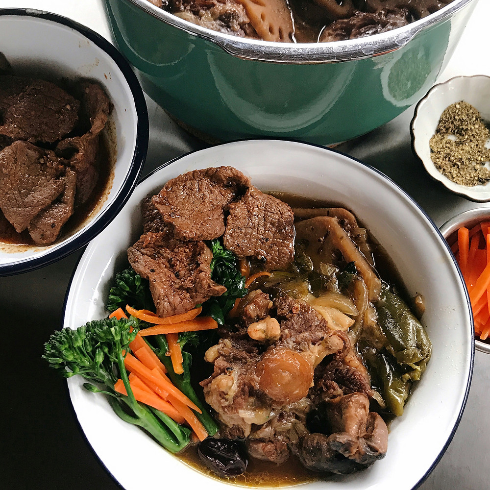 High Fat Low Card Oxtail Stew