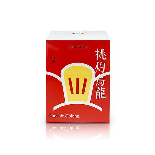 CHAFADO 02 Phoenix Oolong Teabag|椿華堂 02 桃灼烏龍茶包