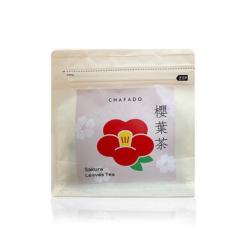 CHAFADO Sakura Leaves Tea Bag   椿華堂 櫻葉茶 茶包