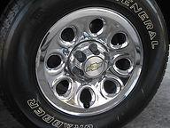 Wheel Polishing  after