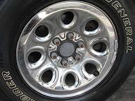 Wheel Polishing  before