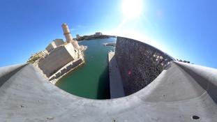 Vidéo 360°  - le Mucem à Marseille