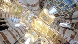 Vidéo 360° - la Basilique Notre-Dame de la Garde à Marseille
