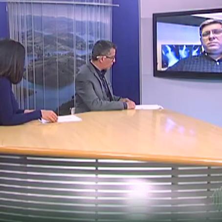 Dr. Miguel Trandafilov fala sobre a má postura no Home Office em entrevista a TV Diário