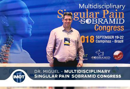Dr. Miguel em Congresso  Internacional Multidisciplinary Singular Pain Sobramid