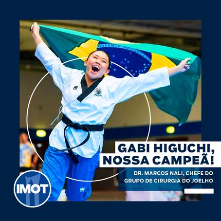 Gabi Higuchi, nossa campeã!