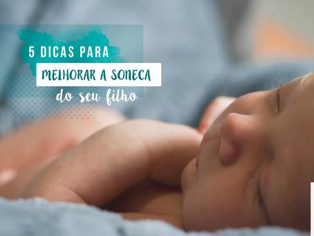 5 dicas para melhorar a soneca do seu filho