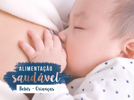 Alimentação Saudável para Crianças e Bebês
