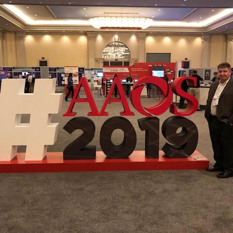 Dr. Nelson Pelozo participou do AAOS annual meeting