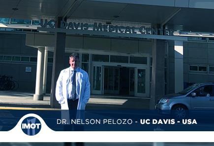 Dr. Nelson Pelozo visita o UC Davis – USA