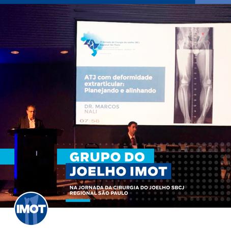 Grupo do Joelho IMOT na Jornada da Cirurgia do Joelho SBCJ Regional São Paulo
