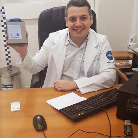 Imot promove ação no Dia dos Médicos e ortopedistas recebem mimos especiais