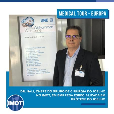 Dr. Nali viaja à Europa para realizar um Medical Tour
