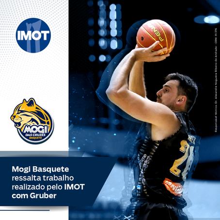 Mogi Basquete ressalta trabalho realizado pelo IMOT com Gruber