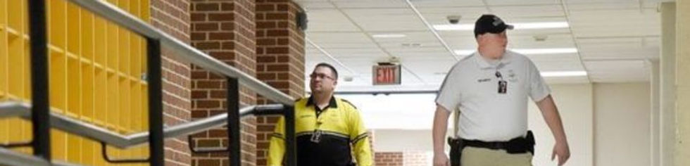 school security guard services