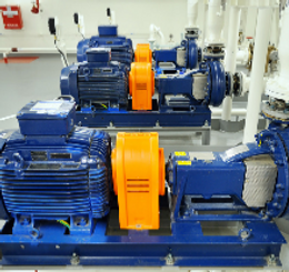 Training for industrial lubricant handling and pump operations