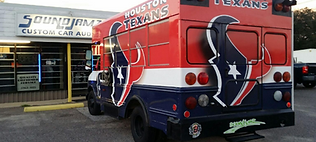 houston texans vehicle work