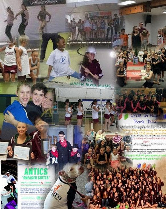dance studio with dance events kent wa