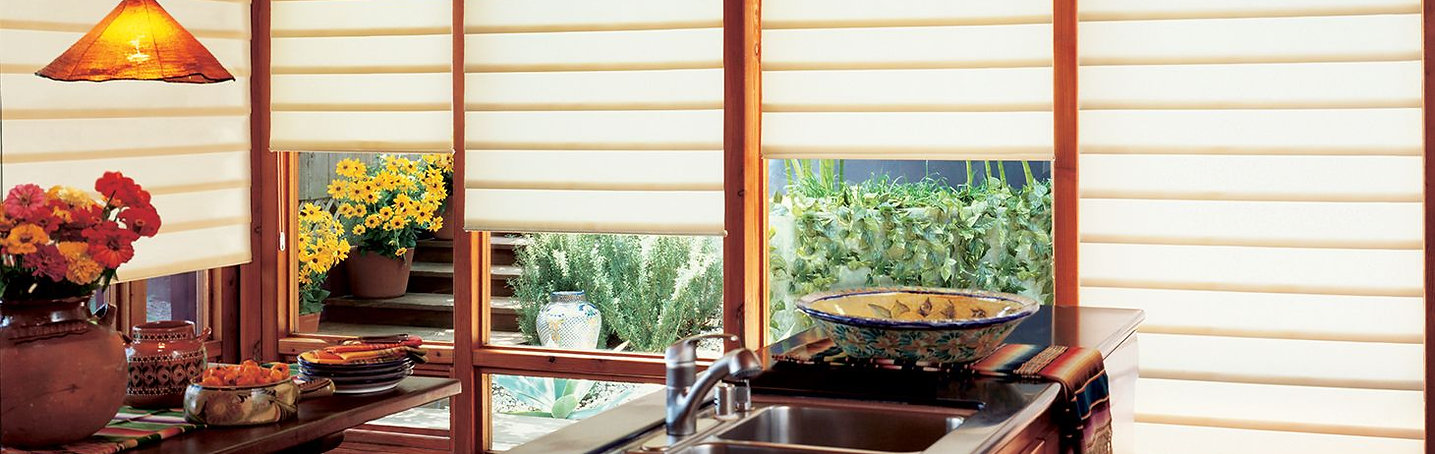 custom kitchen window shades