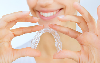 teeth alignment procedures with a clear corrector