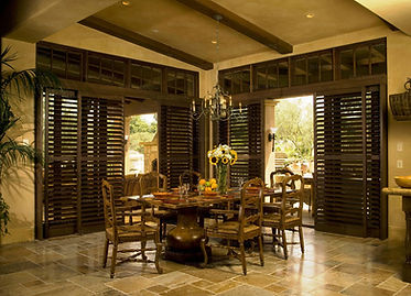 interior window custom shutter blinds