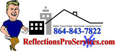 reflection pro services - gutter cleanings